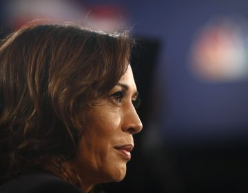 Sen. Kamala Harris at the Adrienne Arsht Center for the Performing Art, Thursday, June 27, 2019, in Miami. (AP Photo/Brynn Anderson)