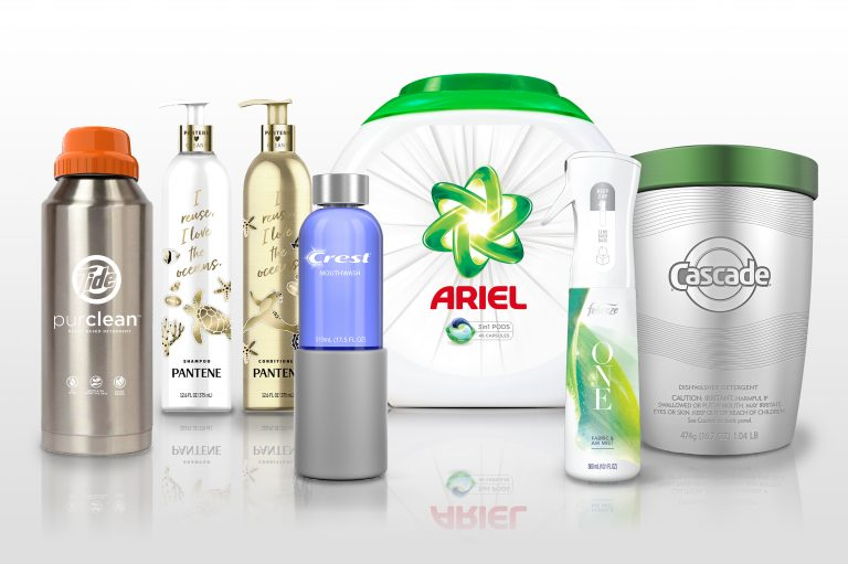 Several of the products available from Proctor and Gamble (Courtesy of Loop)
