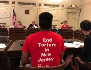Former New Jersey inmates testify about their experiences in solitary confinement (Joe Hernandez/WHYY)