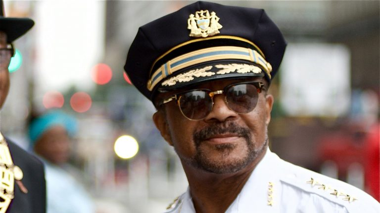 Philadelphia Sheriff Jewell Williams, pictured here in 2018 (Bastiaan Slabbers for WHYY)