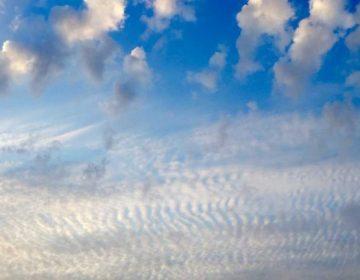 Sky over South Seaside Park. (Justin Auciello/WHYY)