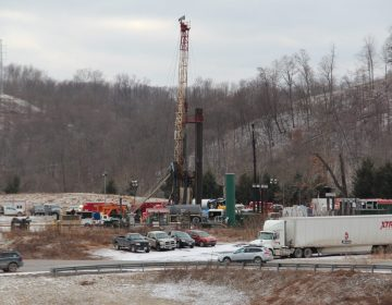 A Range Resources well site in Washington County in 2018. (Reid R. Frazier/StateImpact Pennsylvania)