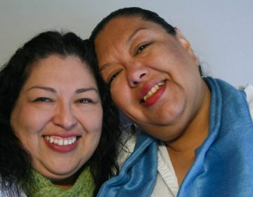 Candi and Estela Reyes shared memories of their father during a 2012 StoryCorps interview in El Paso, Texas. (Anaid Reyes/StoryCorps)