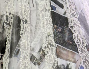 Beneath the sheer fabric of Asmaa Diab's