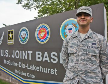 Nineteen-year-old Sikh airman Jaspreet Singh will march in the Independence Day Parade in Washington D.C. (Kimberly Paynter/WHYY)