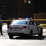 Recent crime data shows Philly sees more shootings when temperatures rise above 85 degrees. But excessive heat can have the opposite effect. (Emma Lee/WHYY)