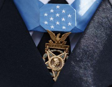 The Medal of Honor. (Carolyn Kaster/AP Photo)