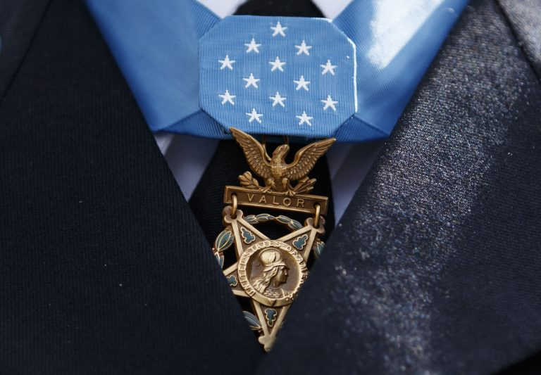 The Medal of Honor. (Carolyn Kaster/AP Photo)
