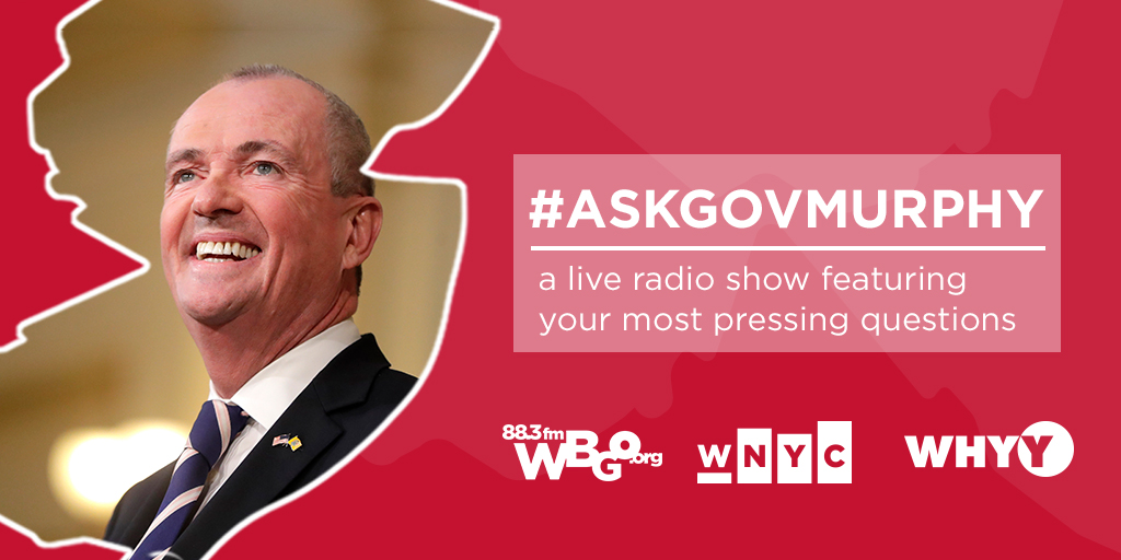 Listen live: Ask Governor Murphy