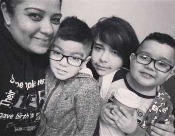 Diana Alvarez with her children (photo provided)