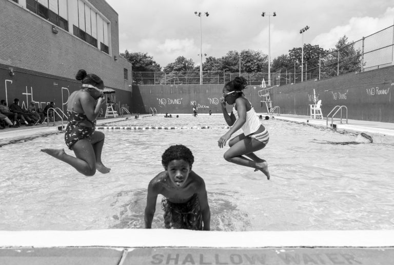 One of the episodes in this season of Schooled gives a snapshot of the summer at the Hank Gathers Rec Center in North Philadelphia. (Jessica Kourkounis for Keystone Crossroads)