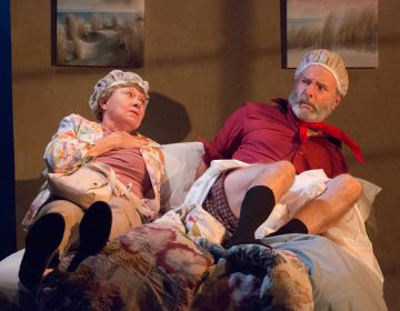 Carla Belver and Jack Hoffman in the Act II Playhouse production of