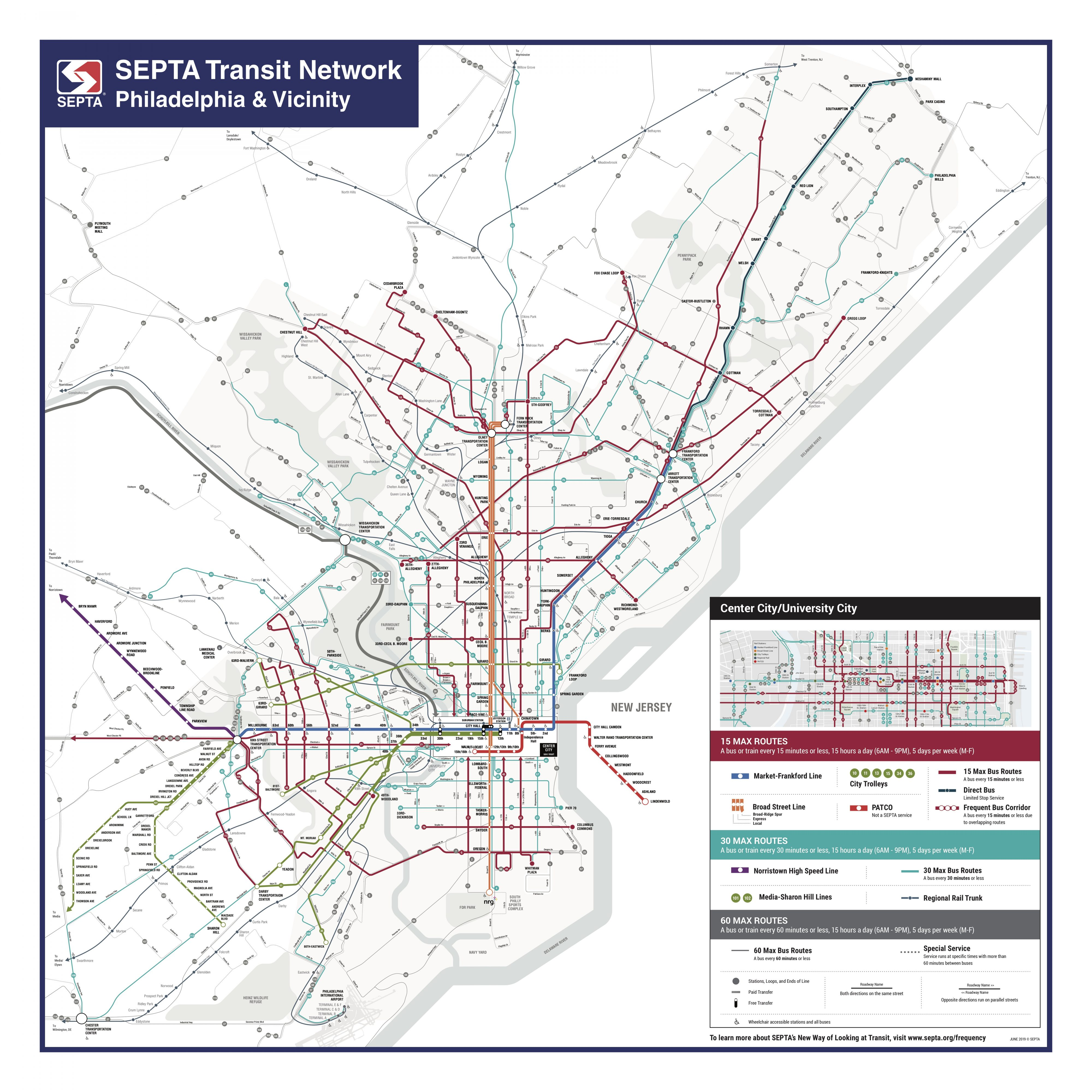 Philly Subway Map.Septa To Install New Transit Maps Whyy