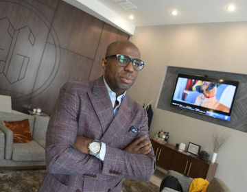 Jonathan Jacobs, founder of ETHOS GSFM, used his background in architecture to design his new 1,500-squre-foot flagship location at 339 N. Broad Street (Abdul Sulayman/The Philadelphia Tribune)