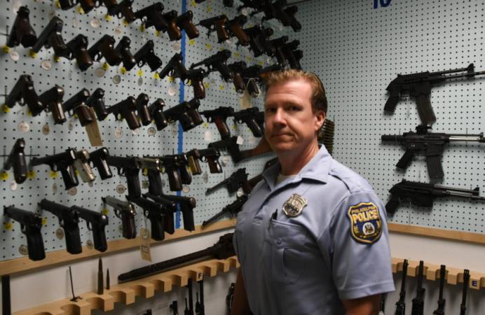 A look inside Philadelphia police's gun archive - WHYY