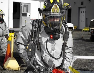 Urban legend perpetuates use of hazmat suits in fentanyl cleanups. (Flickr Creative Common / Scubatoo)