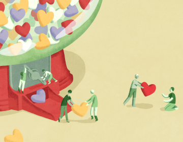 Being a caregiver requires a lot of time and effort. However, when crisis strikes it's hard to simply ask for help. So, how do you help people help you? (Minnie Phan for NPR)