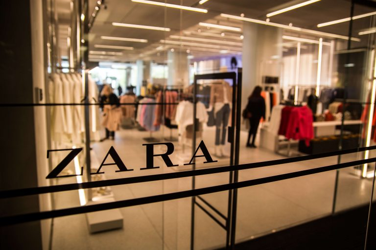Zara's parent company Inditex announced new sustainability goals this month. But can a fast-fashion brand built on growth truly become sustainable? (Marcos del Mazo/LightRocket via Getty Images)