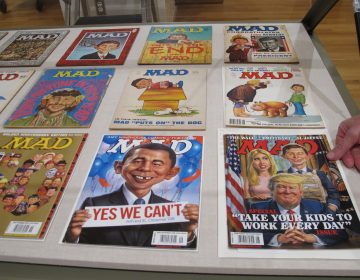 2018 exhibit at the Billy Ireland Cartoon Library & Museum at Ohio State University celebrated the artistic legacy of MAD magazine. (Andrew Welsh-Huggins/AP)