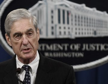 Special counsel Robert Mueller makes a statement about the investigation into Russian interference in the 2016 election at the Justice Department on May 29, 2019 in Washington, DC. Photo by Olivier Douliery/Abaca/Sipa USA(Sipa via AP Images)
