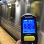 Compared to the above-ground air, SEPTA stations are relatively cool DANYA HENNINGER / BILLY PENN