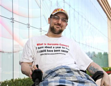 Kevin Roster moved from his longtime home in New Jersey to California so he could access its medical aid-in-dying law. Suffering from sarcoma, he died with medical assistance in Rancho Cordova, Calif., on July 26, 2019, six days before New Jersey's law took effect. (Emma Lee/WHYY)