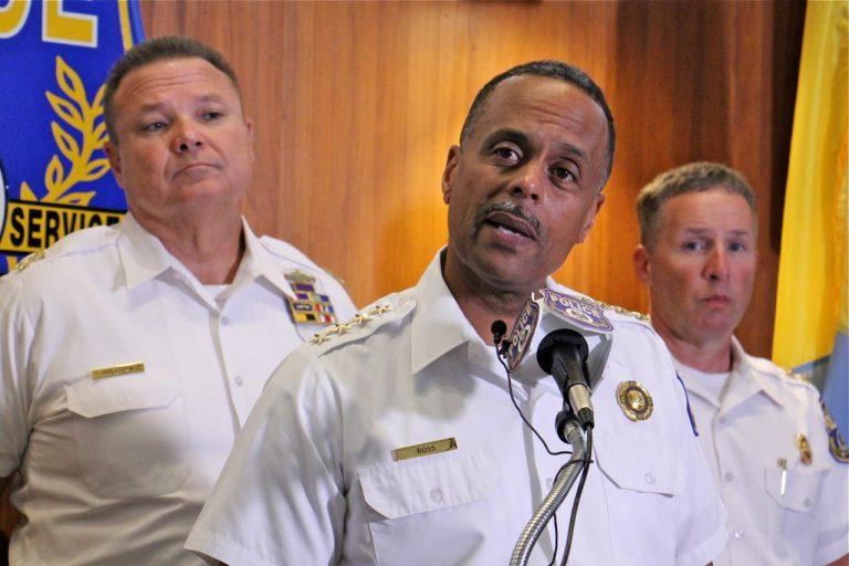 Former Philadelphia Police Commissioner Richard Ross. (Emma Lee/WHYY)