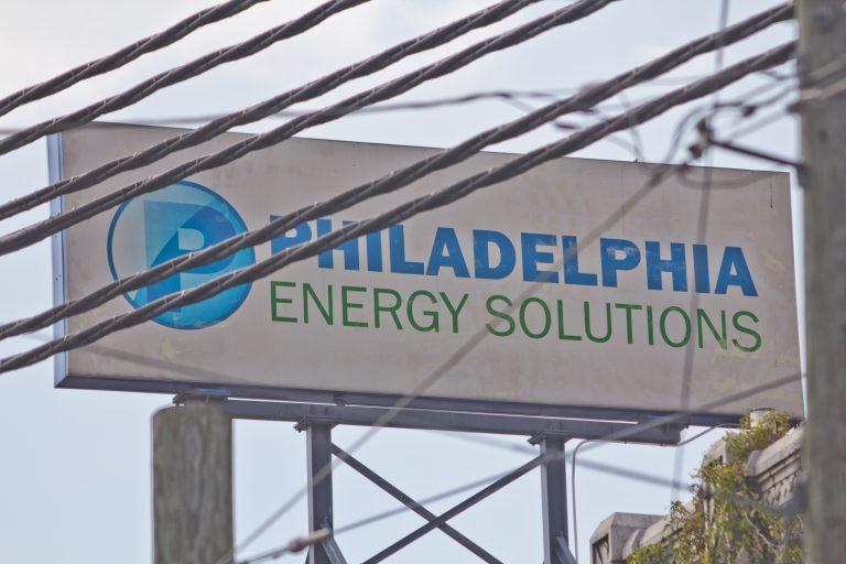 Philadelphia Energy Solutions refinery. (Kimberly Paynter/WHYY)