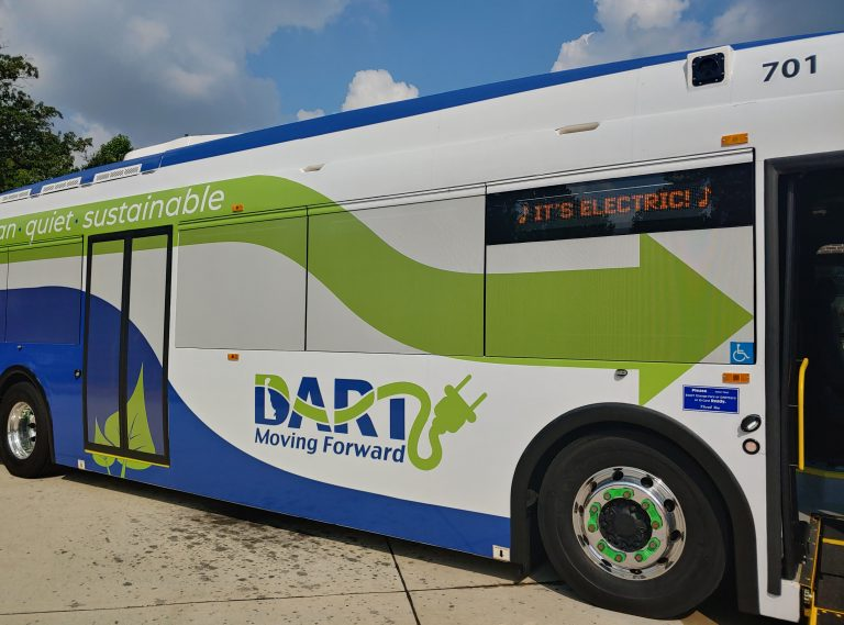 Delaware receivee a $2.6 million grant award from the U.S. Department of Transportation to purchase or lease zero-emission and low-emission transit buses. (Zoë Read/WHYY)