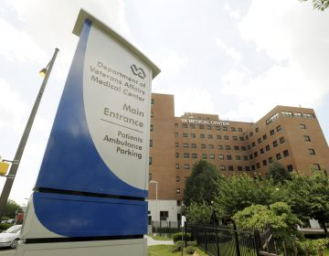 FILE - This file photo from June 29, 2009 shows the Philadelphia Veterans Hospital (Bradley C Bower/AP Photo, File)