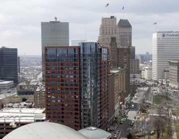 A part of Newark's skyline is seen in Newark, N.J., Tuesday, April 10, 2018. (Seth Wenig/AP Photo)