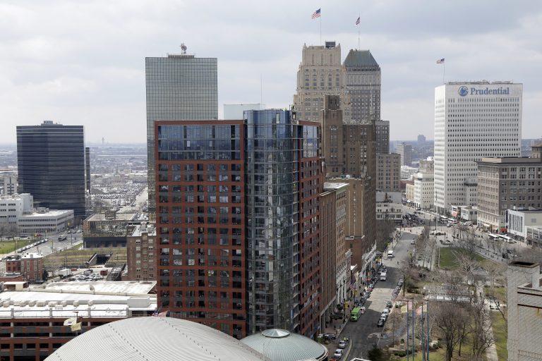 A part of Newark's skyline is seen in Newark, N.J., Tuesday, April 10, 2018. (Seth Wenig/AP Photo)