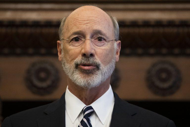 Gov. Tom Wolf speaks during a news conference at City Hall in Philadelphia, Thursday, Aug. 15, 2019. (Matt Rourke/AP Photo)
