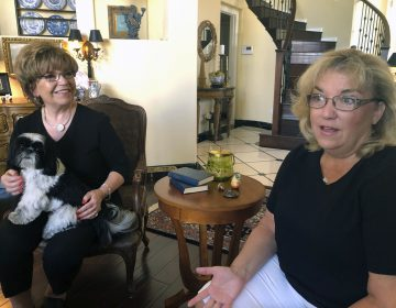 Terrie Dietrich, left, and her daughter Erin Cross, talk in Dietrich's home in Henderson, Nev., Thursday, Aug. 22, 2019. (Michelle L. Price/AP Photo)