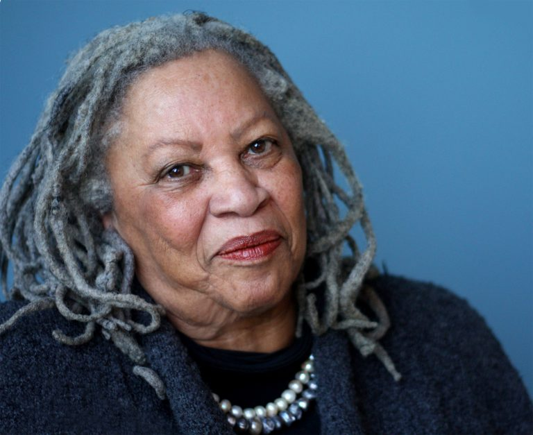 Nobel laureate Toni Morrison is pictured here in this 2012 file photo (Alfred A. Knopf)