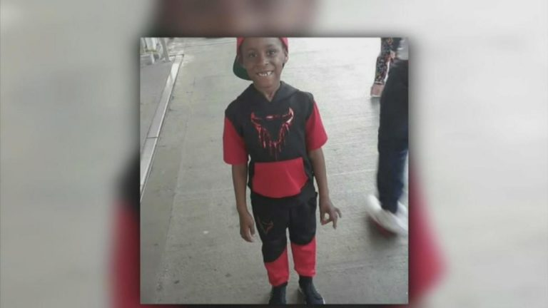 Seven-year-old Aiden Devlin, pictured, died after falling between SEPTA  train cars. (NBC10)