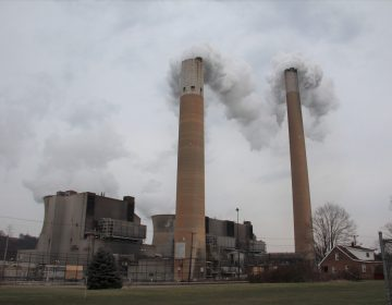 Bruce Mansfield coal-fired power plant in Shippingport, Pa. (Reid Frazier/StateImpact Pennsylvania)