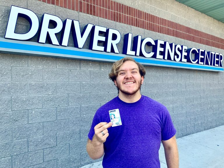 Finn Nahill got the first gender neutral marker on a driver's license issued by the Huntingdon Valley, Pennsylvania DMV. (Photo provided by Morgan Selkirk)