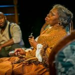 Akeem Davis and Zuhairah in Arden Theatre Company's production of 'Gem of the Ocean,' which received 11 Barrymore nominations, the most for any production staged last season. (Photo courtesy of Ashley Smith/ Wide Eyed Studios)