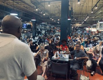 The Beer Summit on Race is an annual conversation held at the Reading Terminal Market on race and racism. (Courtesy of Global Citizen)