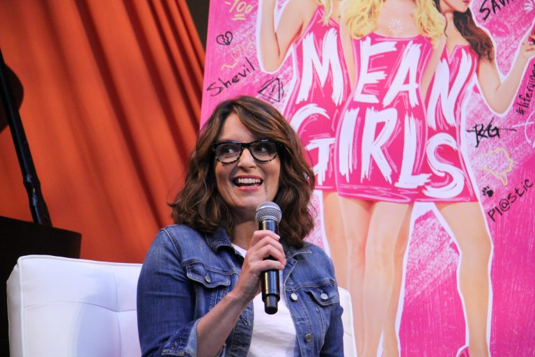 Tina Fey at the Kimmel Center on Aug. 14, 2019. (Emma Lee/WHYY)