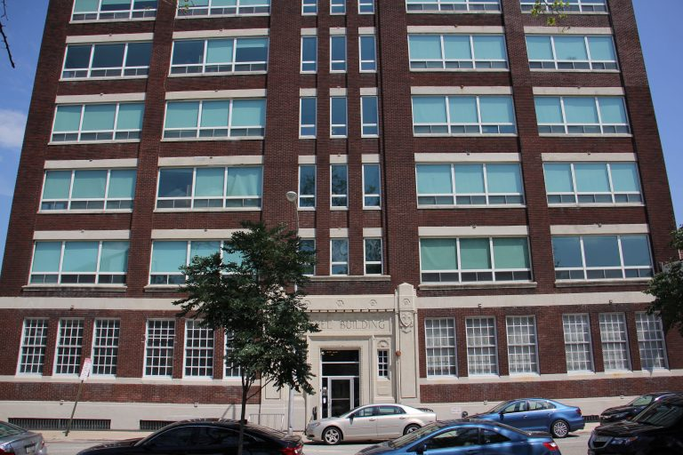 The apartments inside 509 Vine Street are being converted into short-term rentals. (Emma Lee/WHYY)