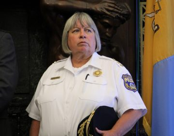 Acting Philadelphia Police Commissioner Christine Coulter (Emma Lee/WHYY)