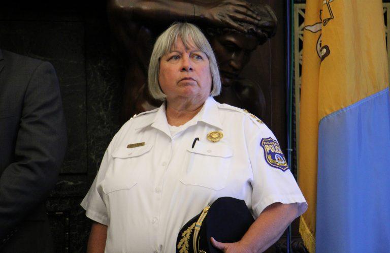 Acting Philadelphia Police Commissioner Christine Coulter (Emma Lee/WHYY)