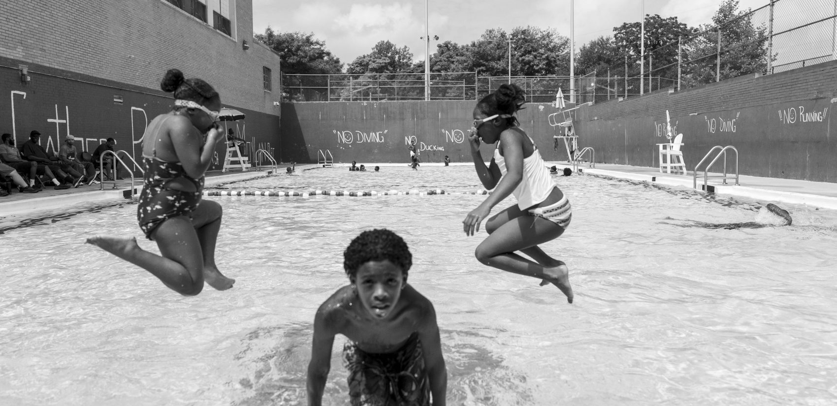 The pool at the Hank Gathers Rec Center. (Jessica Kourkounis for Keystone Crossroads)
