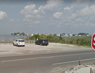 The 25th Street Barnegat Bay beach in Barnegat Light. (Google Images)