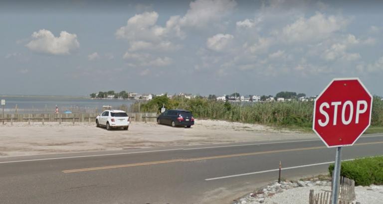 The 25th Street Barnegat Bay beach in Barnegat Light. (Google Images)