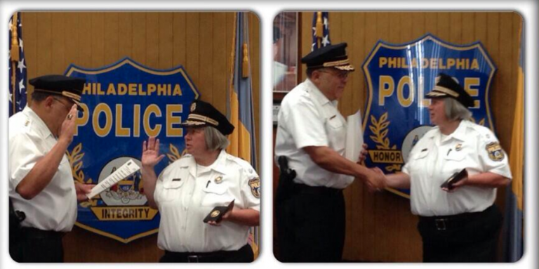 Philadelphia Police Commissioner Christine M. Coulter (Philadelphia Police Department/twitter)