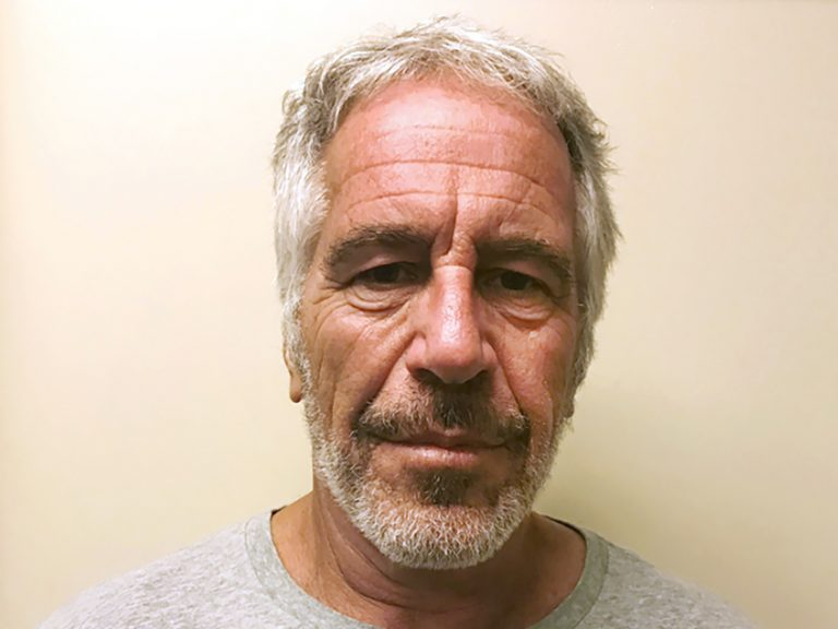 This March 28, 2017, file photo, provided by the New York State Sex Offender Registry shows Jeffrey Epstein. Epstein has died while awaiting trial on sex-trafficking charges. (AP Photo)