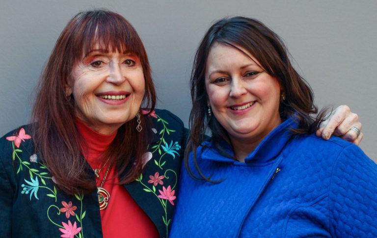 During their StoryCorps interview in April, Elizabeth Coffey-Williams (left) told her niece, Jennifer Coffey (right), about how her loving family did not understand what being transgender meant.